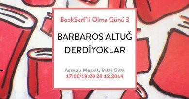 """""""3. Bookserf'li Olma Günü"""" bu pazar özel bir etkinlikle Bitti Gitti'de kutlanıyor"""