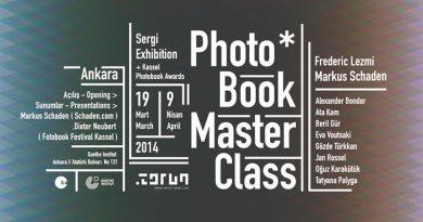 PhotoBook MasterClass sergisi 19 Mart'ta açılıyor