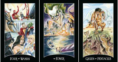 """""""Justice League"""" karakterleri şimdi de Tarot kartlarında!"""
