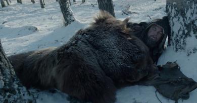"""Iñárritu'nun """"The Revenant""""ından kısa bir sahne"""