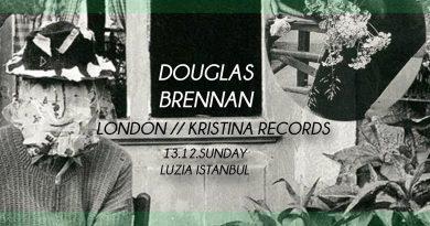 Liquid Amber kolektifinden Douglas Brennan, pazar günü 9 saatlik DJ setiyle Luzia'da