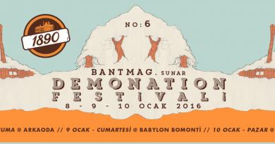 1890'ın katkılarıyla Demonation Festivali No:6, 8-9-10 Ocak'ta, üç farklı mekanda!