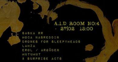 """Art Is Dead kolektifinin """"A.I.D Room No:4"""" etkinliği yarın Tophane Otopark'ta"""