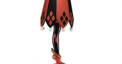 Batman – Harley Quinn Ayak Lambası