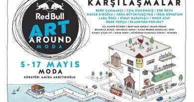 Red Bull Art Around, 5-17 Mayıs arasında 11 sanatçının 11 eseriyle Moda'da