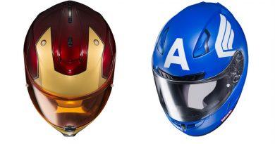 Marvel'dan ilham alan motosiklet kaskları
