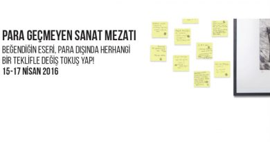 """""""Değiş Tokuş"""" sergisi 15 – 17 Nisan'da Ada Sanat'ta"""