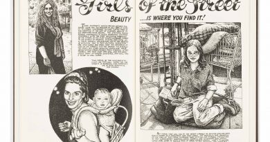 """R. Crumb'ın """"Art & Beauty"""" çalışmaları özel bir sette toplandı"""