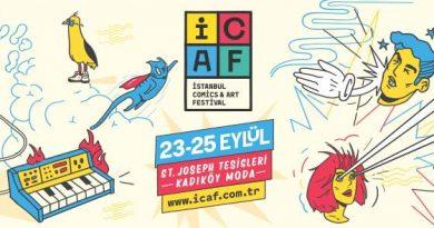 İstanbul Comics and Arts Festival'da sizleri neler bekliyor?