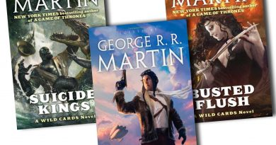 """George R.R. Martin'in bir başka serisi daha dizi oluyor: """"Wild Cards"""""""
