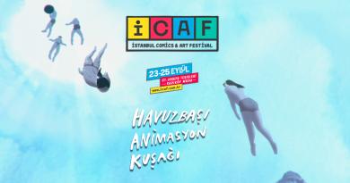 """İstanbul Comics & Arts Festival'ın """"Havuz Başı Animasyon Kuşağı"""" programı belli oldu"""