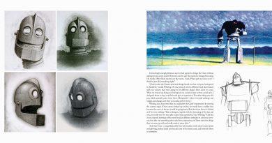 """The Art of The Iron Giant"" kitabı"