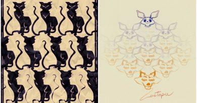 Disney karakterleri Escher'den ilham alan poster tasarımları ile karşımızda