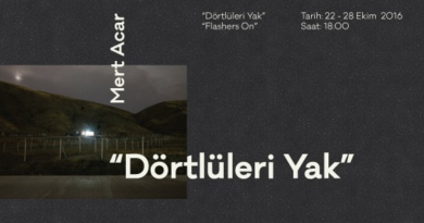 """Mert Acar'ın """"Dörtlüleri Yak"""" sergisi, yarın Torun'da açılıyor"""