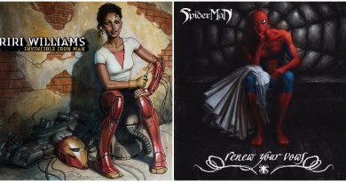 Marvel'ın hip-hop albüm kapakları serisinden yeni çalışmalar