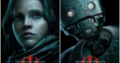 """""""Rogue One: A Star Wars Story""""den karakter posterleri"""