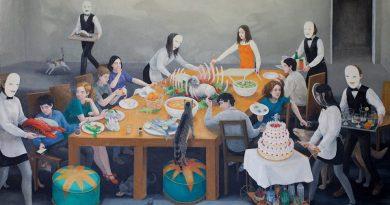 """Aylin Zaptçıoğlu'nun """"Festival ve Ziyafet"""" sergisi yarın Evin Sanat Galerisi'nde açılıyor"""