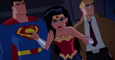 """Justice League Action"" animasyon serisinden kısa bir sahne"