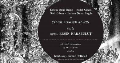 """Bant Mag. Havuz'daki """"Çizer Konuşmaları""""nda sıradaki konuk Ersin Karabulut"""