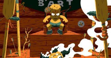 """Avustralyalı sanatçı Florey'den klasik """"The Simpsons"""" bölümleri için posterler"""