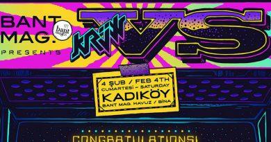 """Bant Mag. sunar: """"VS by Krüw"""" sergisi, 4 Şubat Cumartesi Bant Mag. Havuz'da"""