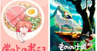 50'den fazla sanatçının Hayao Miyazaki filmlerinden ilham alan çalışmaları sergi oluyor