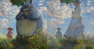 """Klasik tablolar, """"Rick and Morty"""" ve daha birçok anime karakteriyle buluştu"""