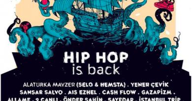 """Alaturka Mavzer, Ezhel, Sansar Salvo ve dahası, 29 Temmuz'da """"Hiphop is Back"""" tekne partisinde buluşuyor"""