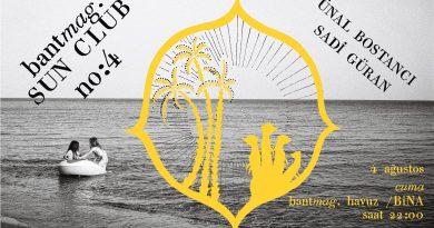 Bant Mag. Sun Club'ın bu akşamki konukları Sadi Güran ve biriken'den Ünal Bostancı