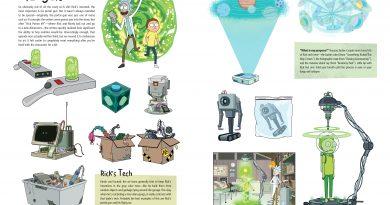 """Rick and Morty""nin perde arkasını konu eden kitap: ""The Art of Rick and Morty"""