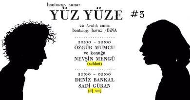"""Özgür Mumcu'nun Bant Mag. Havuz'daki """"Yüz Yüze"""" serisinin sıradaki konuğu Nevşin Mengü"""