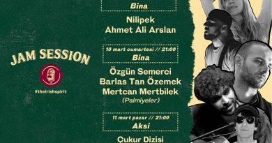 """""""Jam Session"""" konserleri ve söyleşileri 9 Mart'ta başlıyor"""