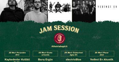 Jam Session etkinlikleri için bu hafta da rota Kadıköy