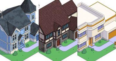 Sekiz farklı mimari tarzda: Simpsons Ailesi'nin evi