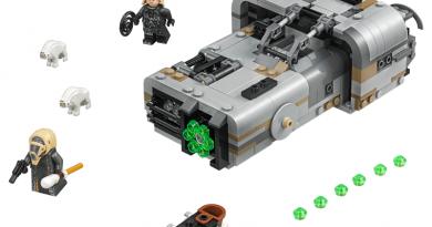 """Solo: A Star Wars Story""ye özel LEGO seti"