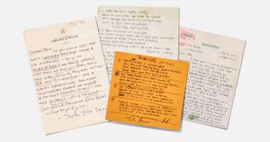 David Bowie, Kurt Cobain ve nicesinin el yazıları font olursa