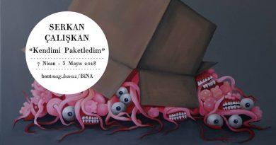 """Serkan Çalışkan'ın yeni sergisi """"Kendimi Paketledim"""", Bant Mag. Havuz'da açılıyor"""
