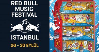 Red Bull Music Festival, 5 günlük programıyla sonbaharda İstanbul'da