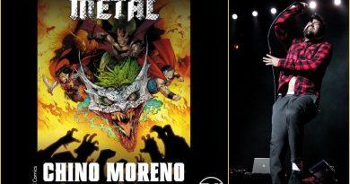 "DC Comics çizgi romanı ""Dark Knights: Metal"" için bir şarkı da Chino Moreno'dan"