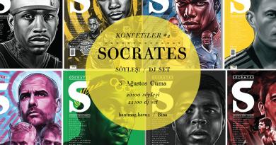 """""""Konfetiler"""" serisinin sıradaki konuğu Socrates dergi ekibi"""
