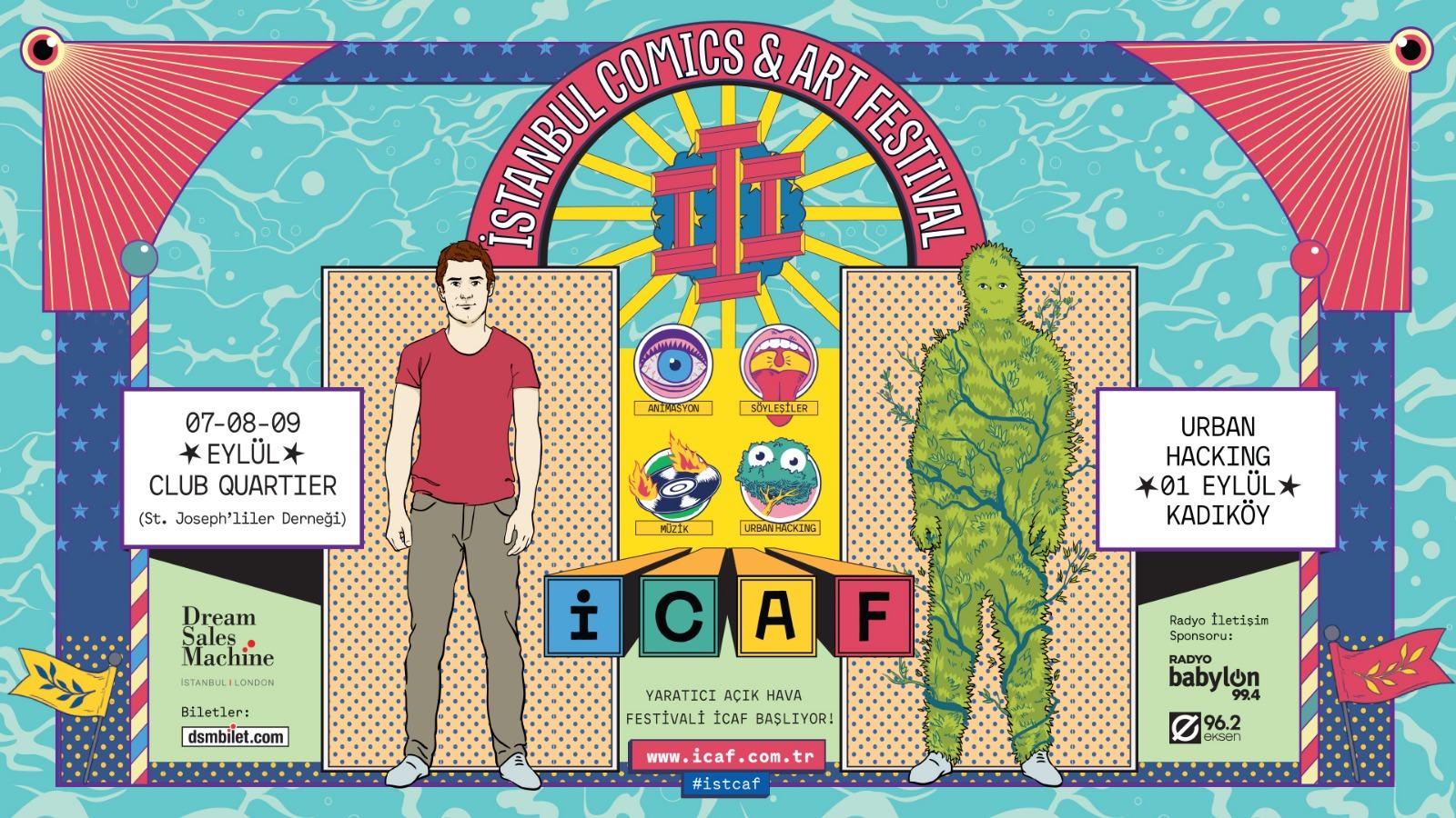 İCAF Urban Hacking sanatçıları hayallerindeki müdahaleyi anlatıyor - bant mag