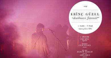 """Erinç Güzel'in gölgeleri geri çağıran solo sergisi """"Darkness Forever"""" 1 Aralık'ta açılıyor"""
