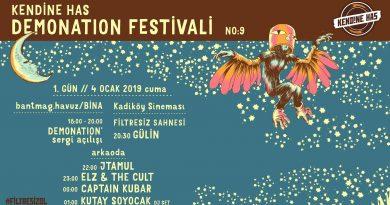 Kendine Has Demonation Festivali No:9 / 1. gün programı