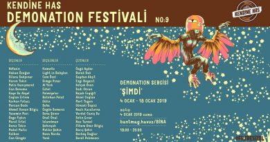 """Kendine Has Demonation Festivali No:9 kapsamında özel bir sergi: """"ŞİMDİ"""""""