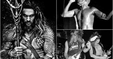 """Jason Momoa'nın """"Aquaman"""" için ilham kaynakları: Tool ve Metallica"""