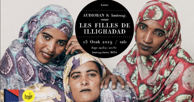 Les Filles De Illighadad, 15 Ocak'ta Bant Mag. Havuz'da