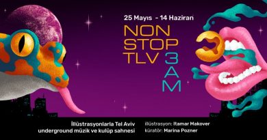 Tel Aviv yeraltı sahnesinin illüstratif izdüşümleri: Non Stop TLV 3am