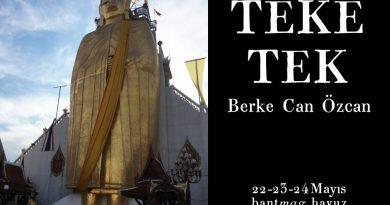 """Berke Can Özcan'ın kişiye özel konser serisi """"Teke Tek"""", üçüncü kez Bant Mag. Havuz'da"""