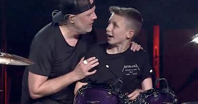 """Metallica ve 13 yaşındaki Evan'dan dinliyorsunuz: """"Seek and Destroy"""""""