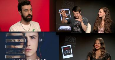 "Netflix – ""13 Reasons Why"" başrol oyuncularıyla röportaj"